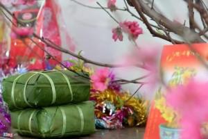 越南阴历新年不吃饺子吃粽子表现越南天圆地方的民间传统文化